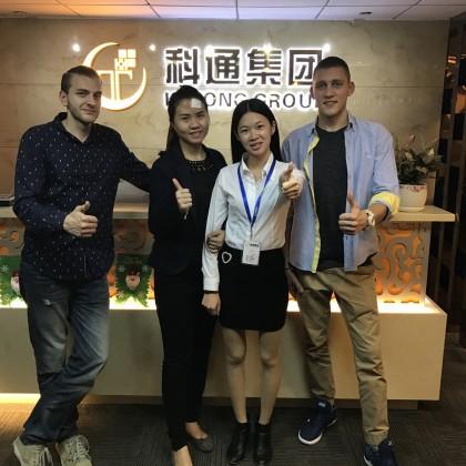 Перевод на переговорах с Ke Tong Group
