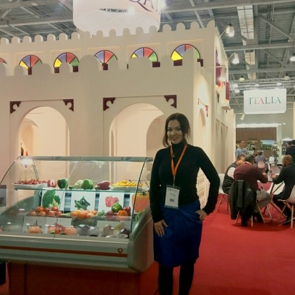 Переводчик Margarita на выставке FOOD EXPO 2019