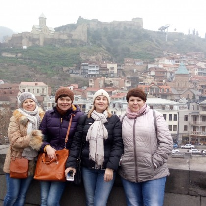 Экскурсия  по старому Тбилиси