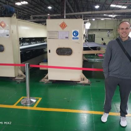 Перевод на заводе ткани